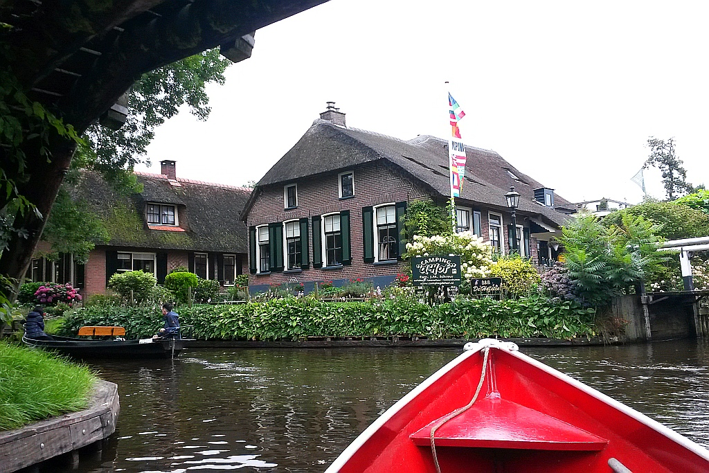 Giethoorn Mietboot