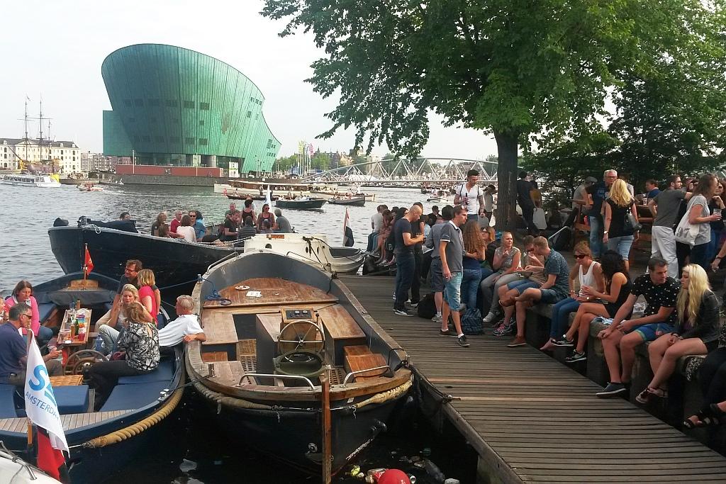 Biergarten Hannekes Boom Amsterdam
