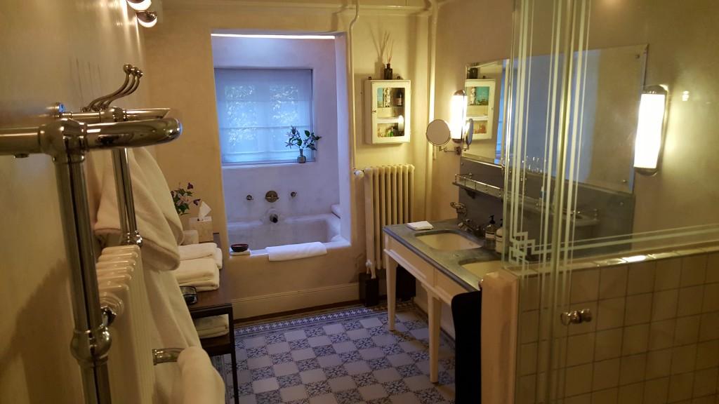 Badezimmer Garden Suite Villa Nicola Amsterdam
