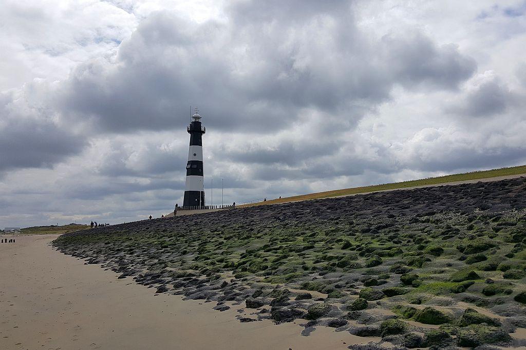 Leuchtturm Strand Breskens