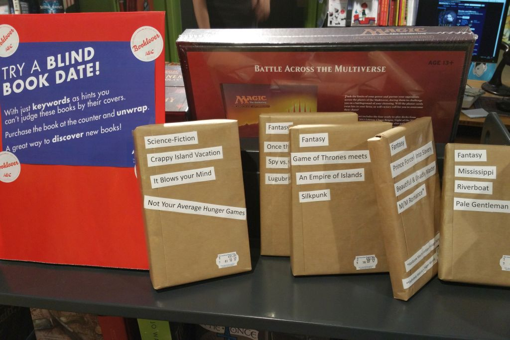 Blind Date with a Book im American Book Center Amterdam - Science Fiction und Fantasy