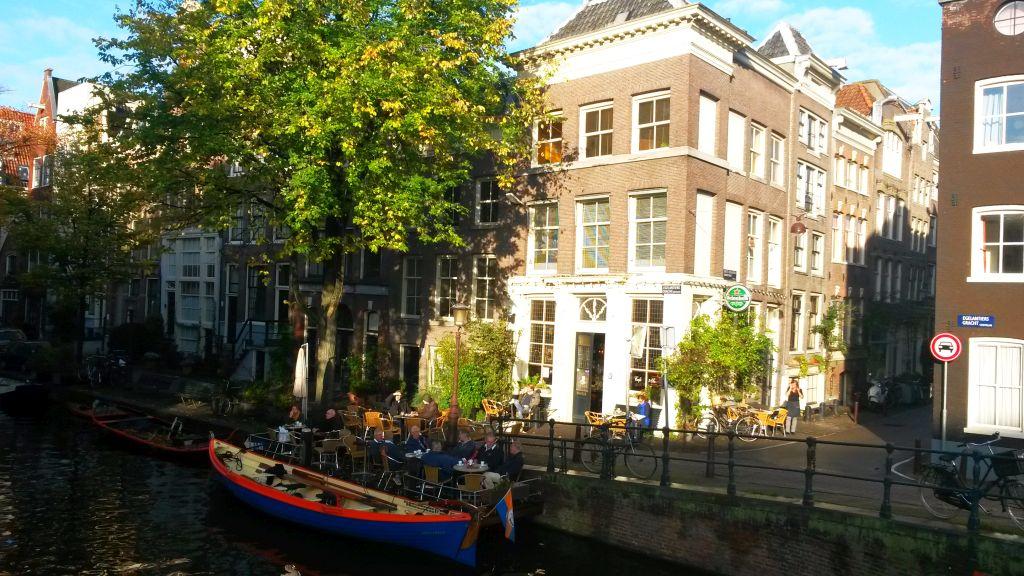 Egelantiersgracht Amsterdam Café 't Smalle