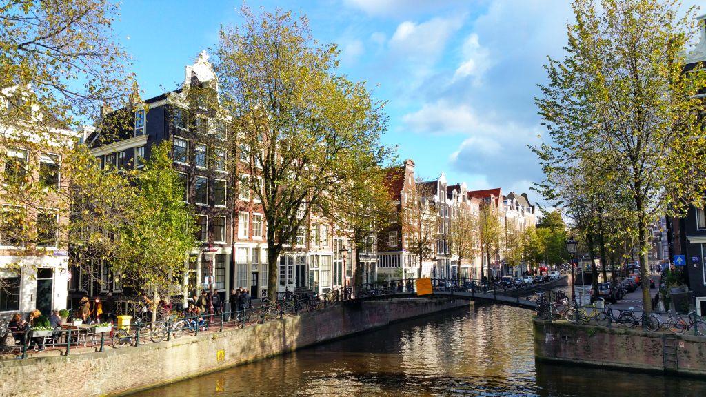 Ecke Herengracht Brouwersgracht Amsterdam