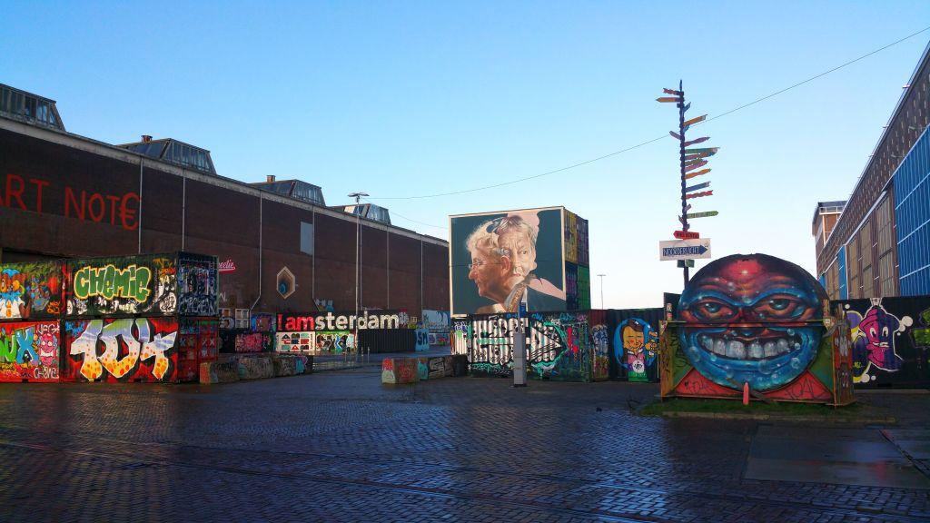 NDSM Gelände Amsterdam