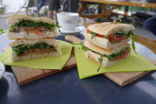 Sandwiches Cafe al Ponte Amsterdam