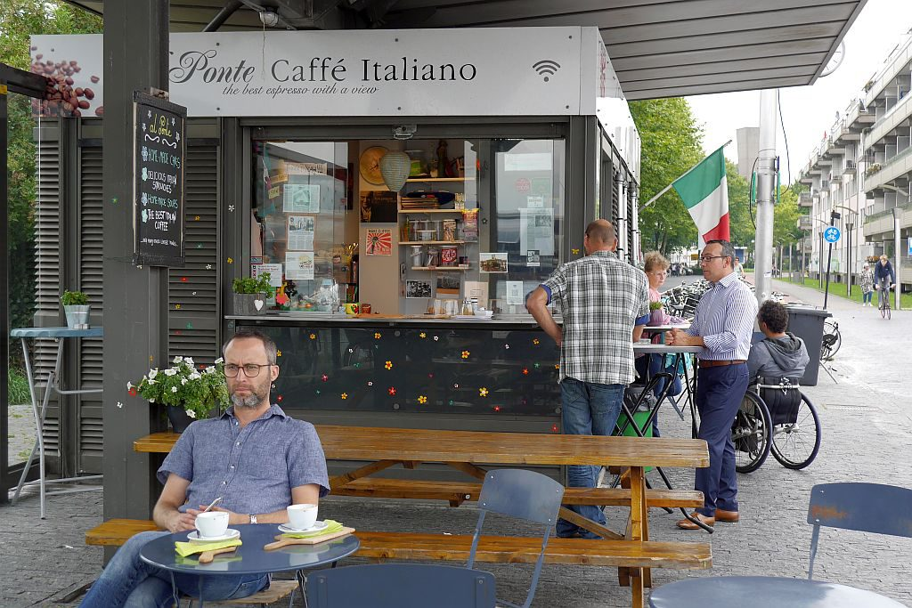 Cafe al Ponte Amsterdam Jens