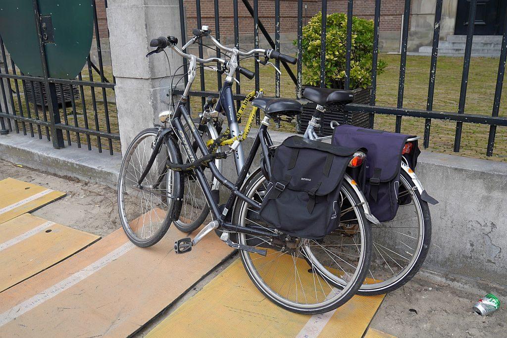 Fahrräder Amsterdam Gitter