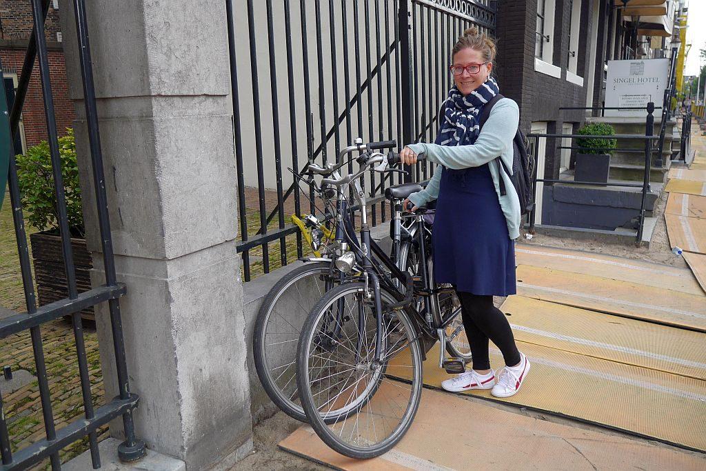 Stefanie Fahrrad Amsterdam