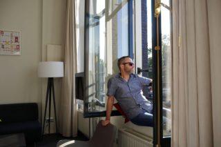 Hapimag Amsterdam Jens Wohnung Fenster