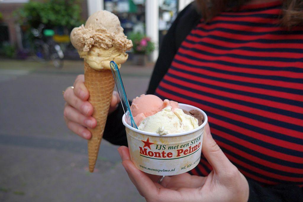 Monte Pelmo Eis Amsterdam Eiswaffel