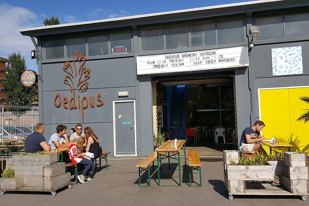 Oedipus Brewery in Amsterdam