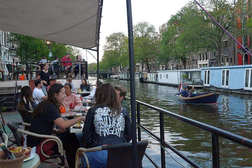 P96 Amsterdam Außengastronomie