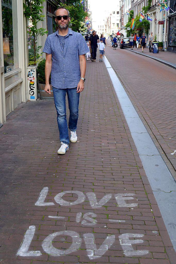 Spaziergang Grachten Amsterdam Jens