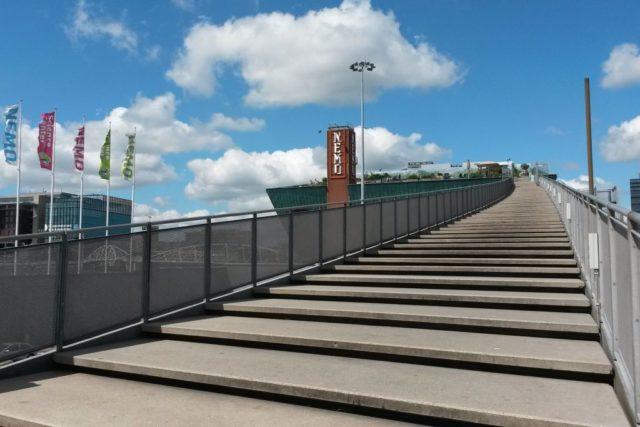 Treppe Dach Nemo Amsterdam