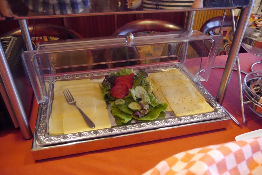 Frühstück im De Magneet Hoorn Hotel