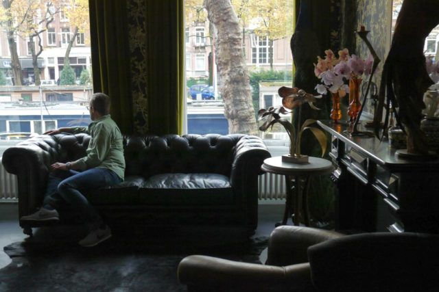Aufenthaltsraum Villa Nicola Amsterdam