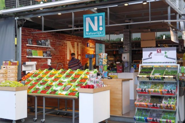 Markthal Rotterdam Obststand