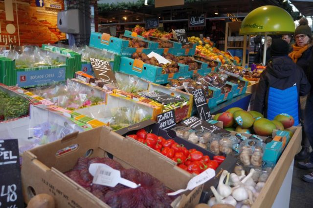 Markthal Rotterdam Obst