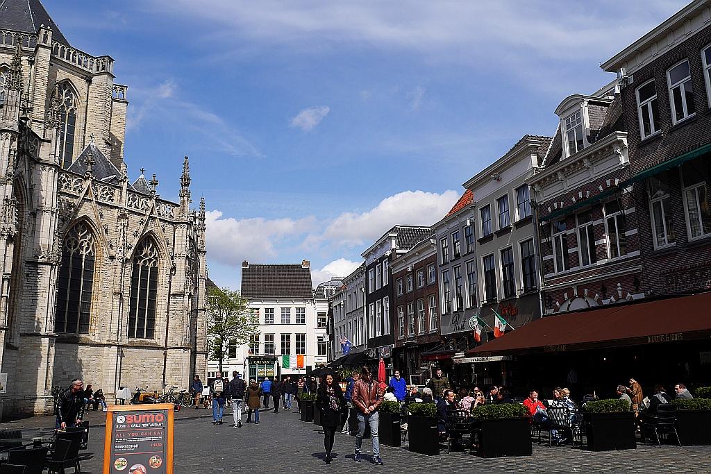 Innenstadt Breda Kirche