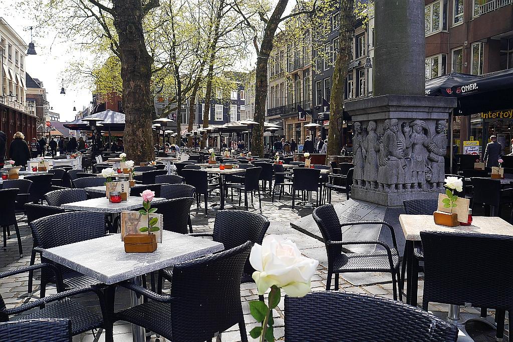 Straßencafes Breda