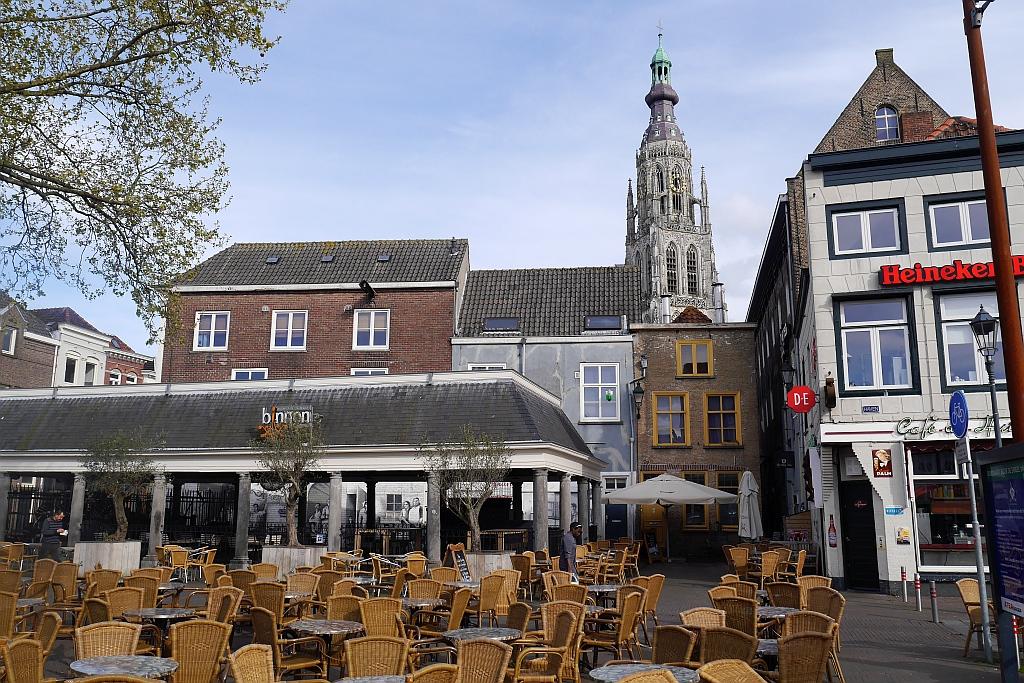 Blick Kirche Breda