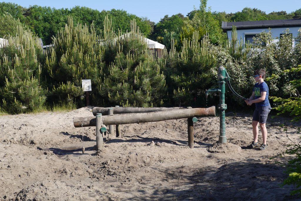 Wasserpumpe Recreatiepark Duinhoeve