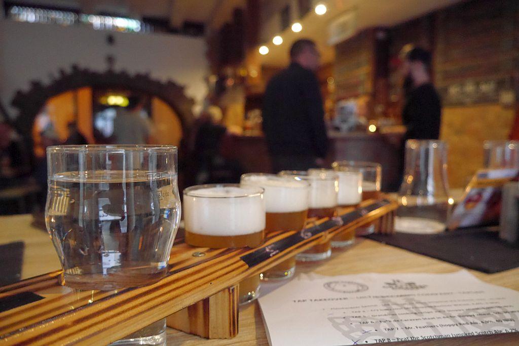 Craftbeer Corner Coeln Tastingboard