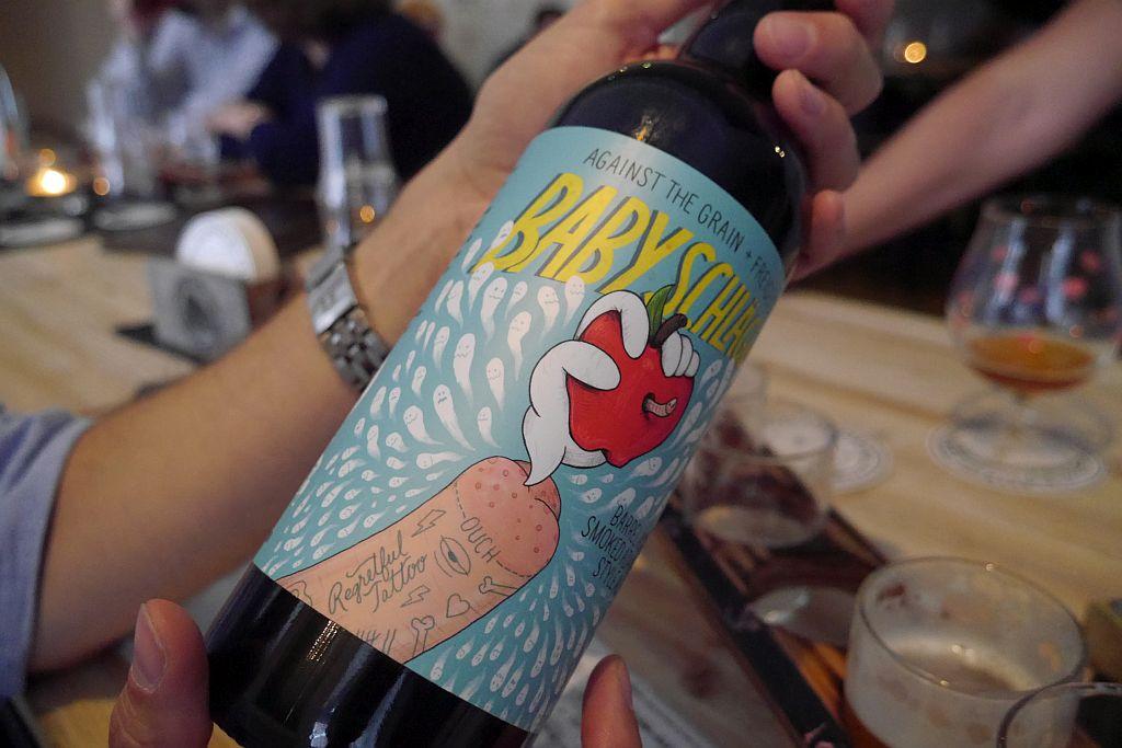 Craftbeer Corner Coeln Etikett Flasche