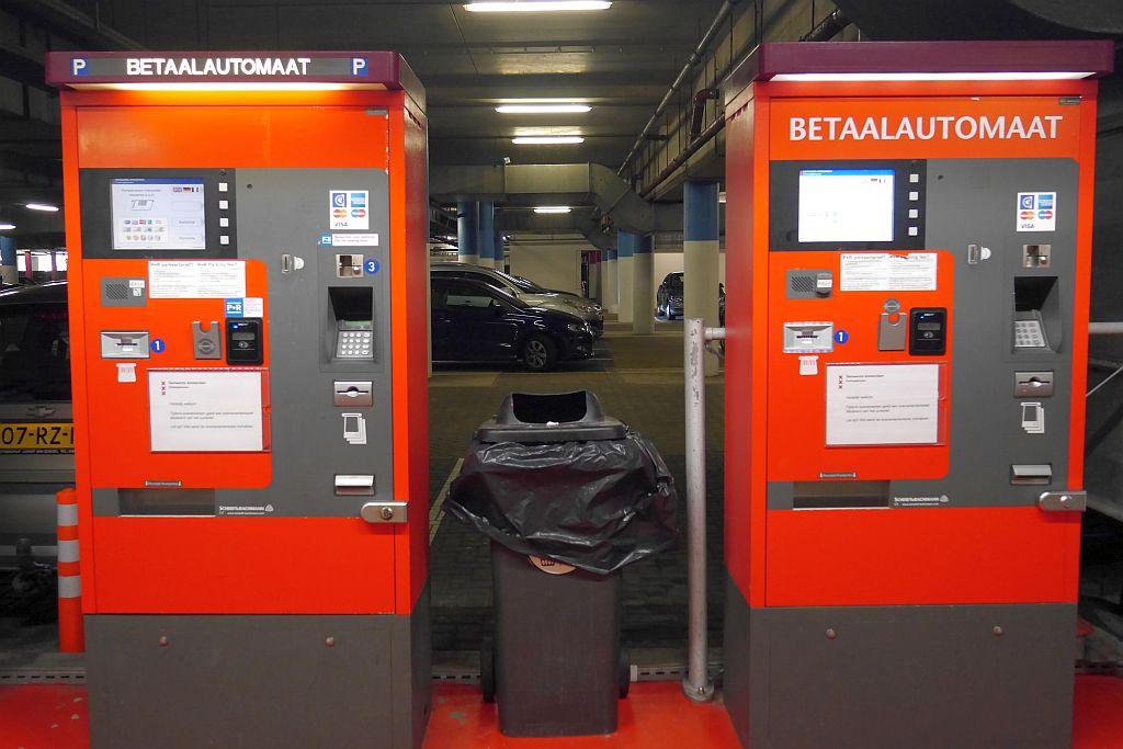 Amsterdam P+R Bezahlautomat