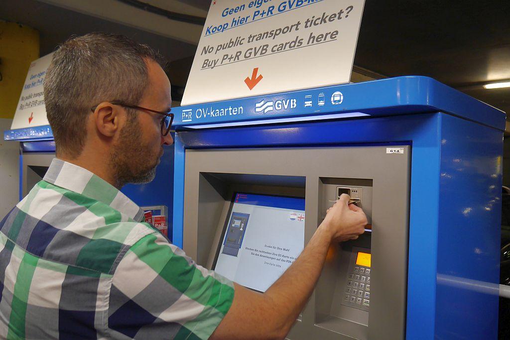 Amterdam P+R Jens Bezahlautomat