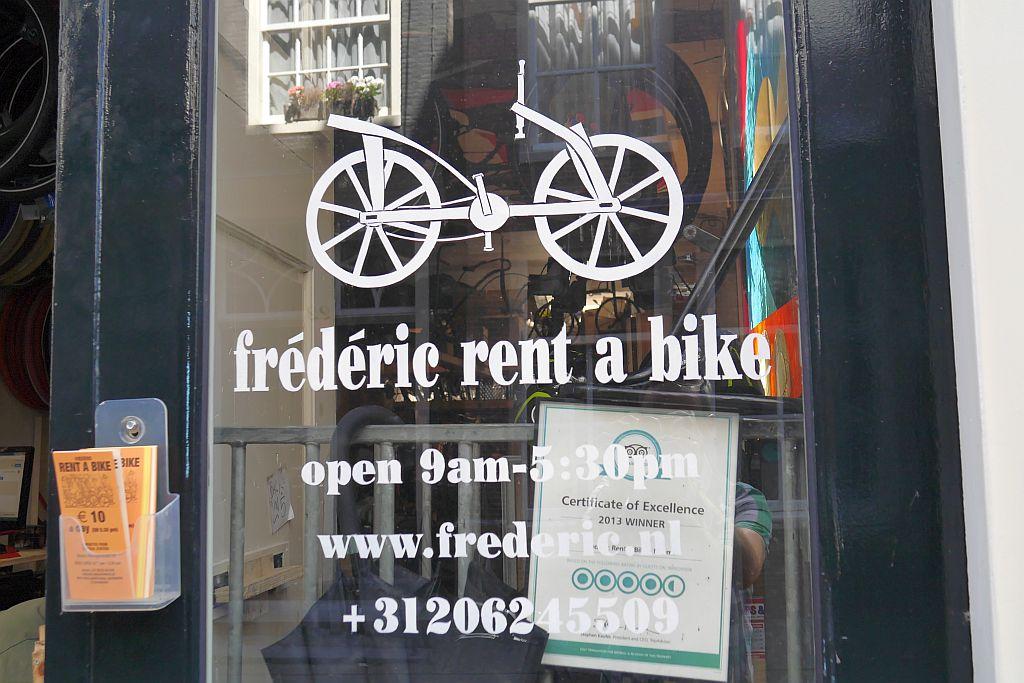 Frédéric Rent a Bike in Amsterdam: günstiger Fahrradverleih mit super Service