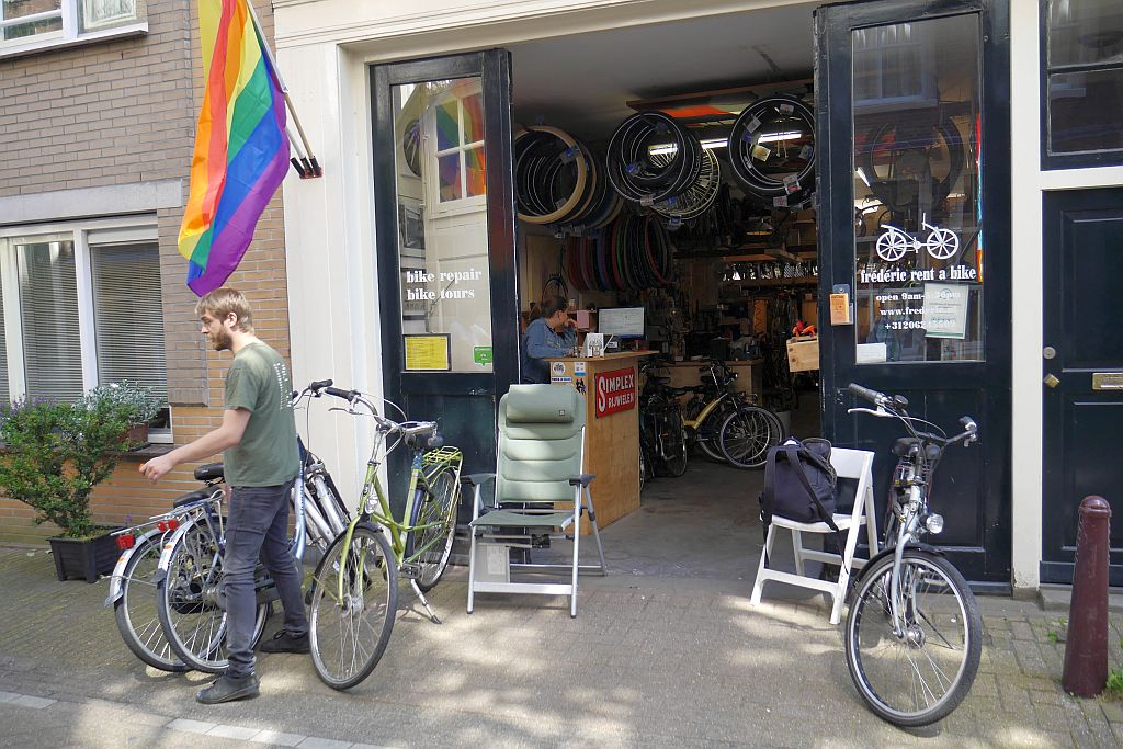 Fahrradverleih Frederic Amsterdam