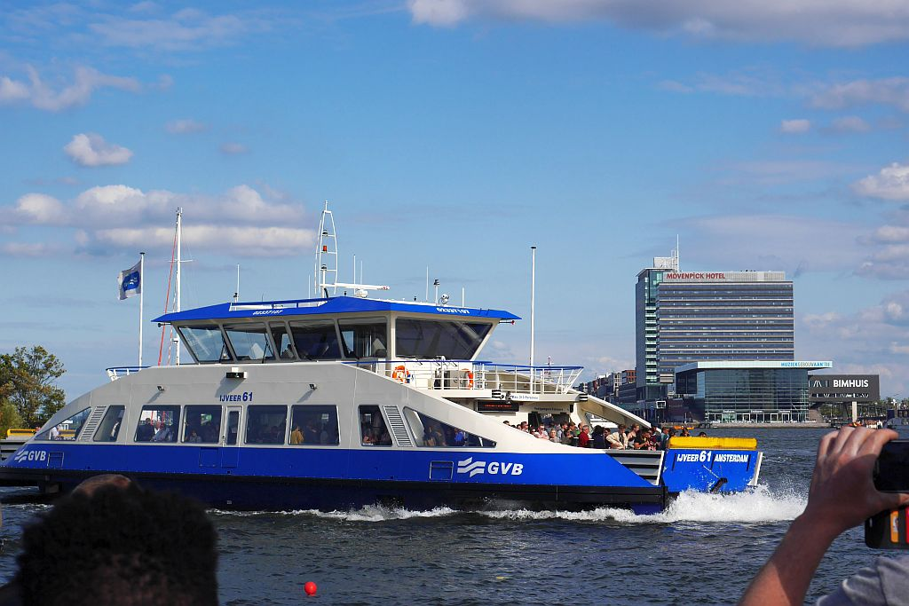 Kostenlose Fähren in Amsterdam: Alle Infos zu Ablegern, Anlegestellen & Fahrtzeiten