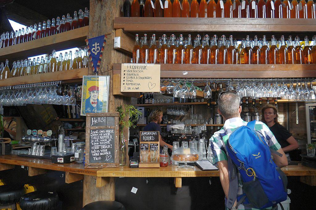 Cafe de Ceuvel Amsterdam Jens Bar