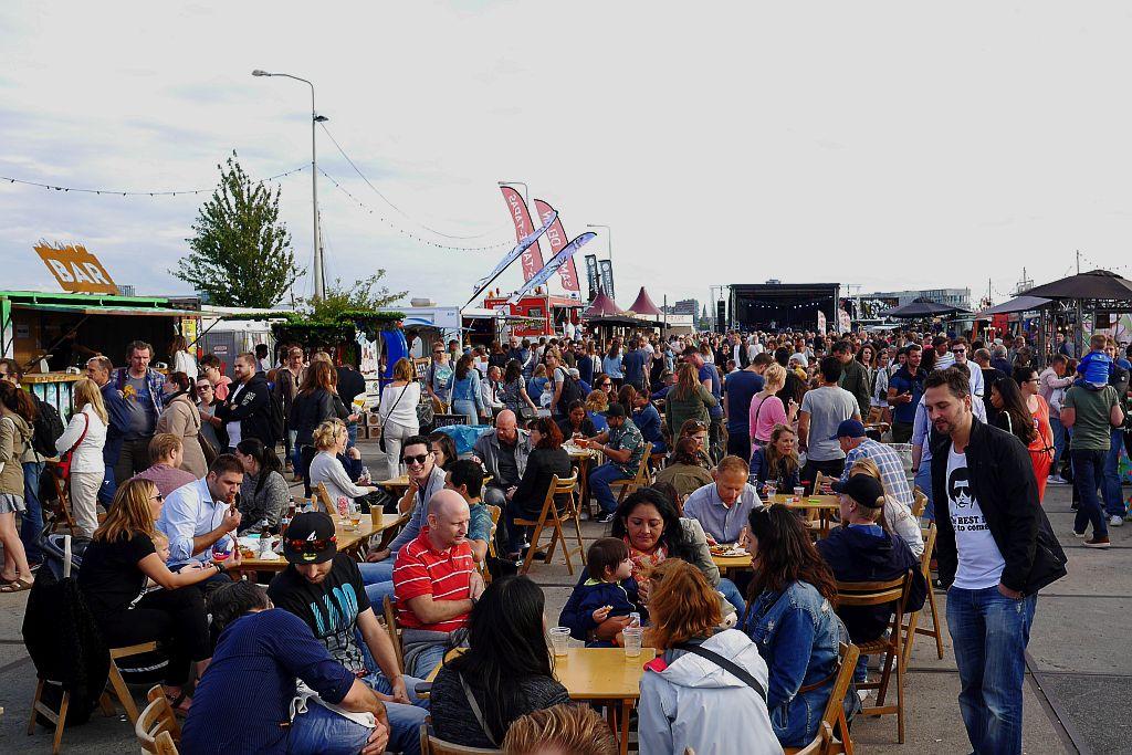 NDSM Food Festival Amsterdam Überblick