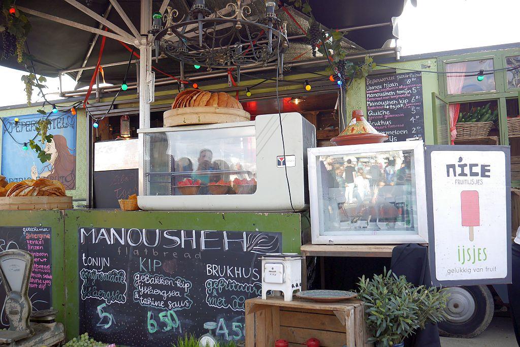 NDSM Food Festival Amsterdam Manousheh