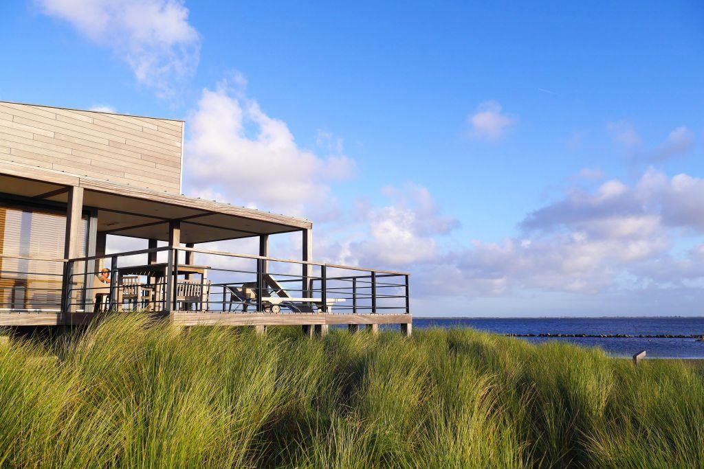 Blick Grevelinger Meer von Ferienhaus Oasis Park Ouddorp