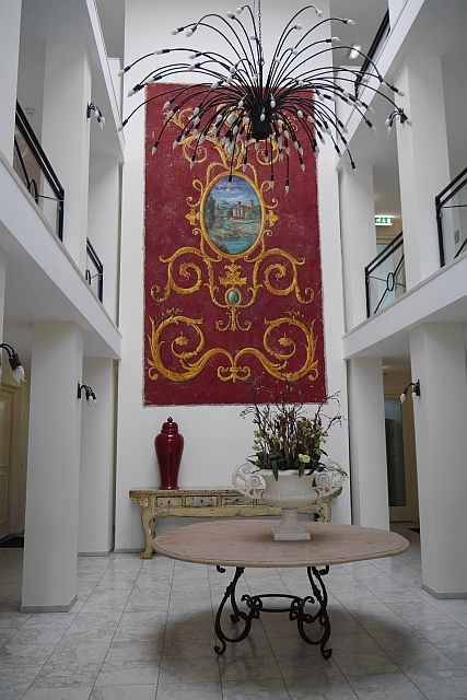 Eingangshalle Kasteeldomein De Cauberg