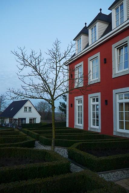 Kasteeldomein De Cauberg Fassade Appartementhaus