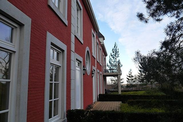 Hintere Fassade Kasteeldomein De Cauberg Valkenburg