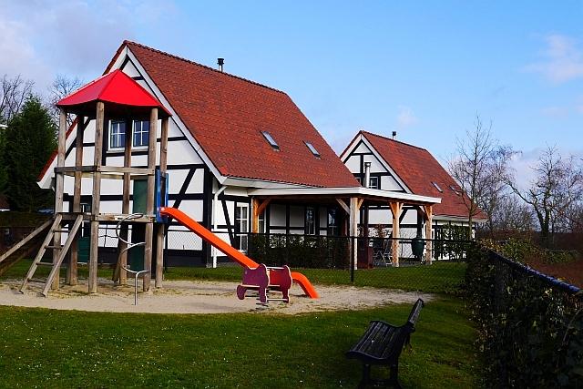 Kasteeldomein De Cauberg Valkenburg Anlage Spielplatz