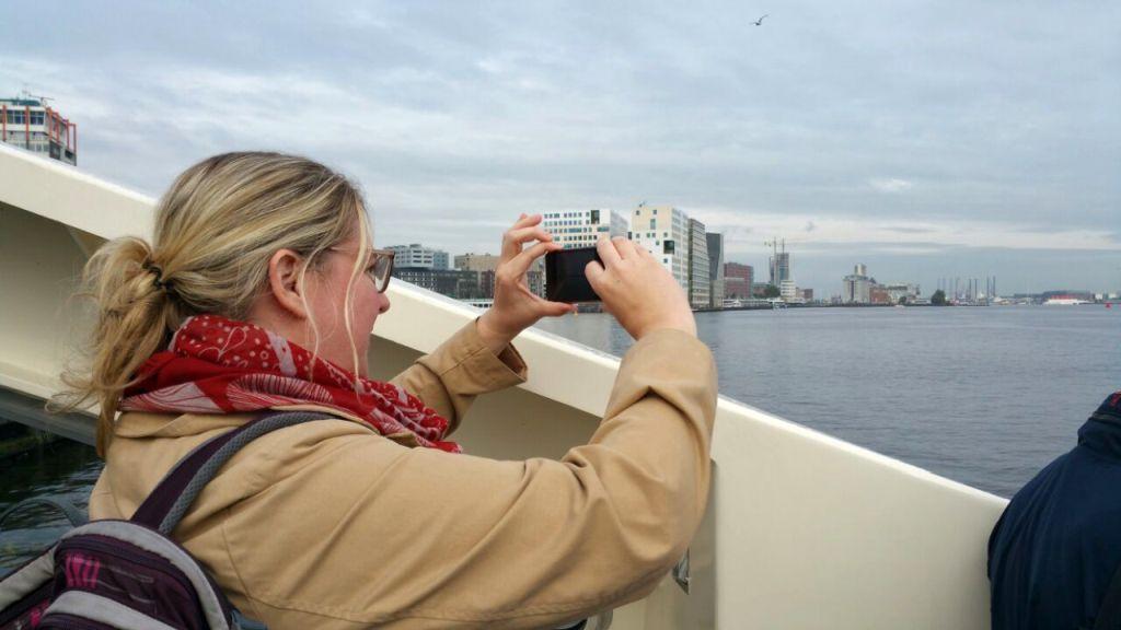 Kostenlose Minicruise mit der Fähre in Amsterdam