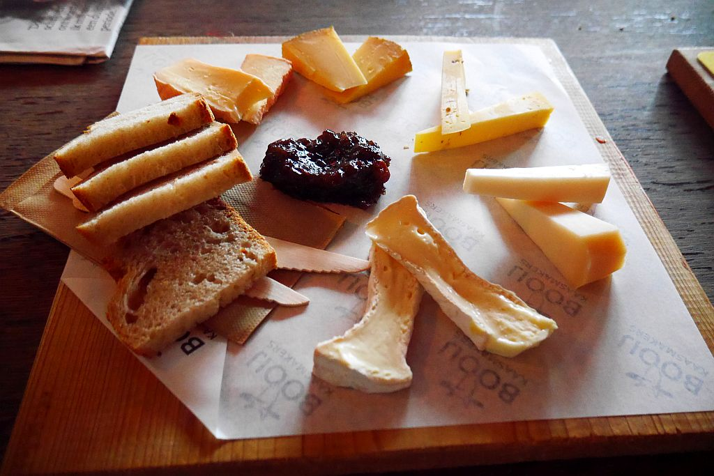 Käsebrett aus der Booij Kaasmakerij Fenix Food Factory