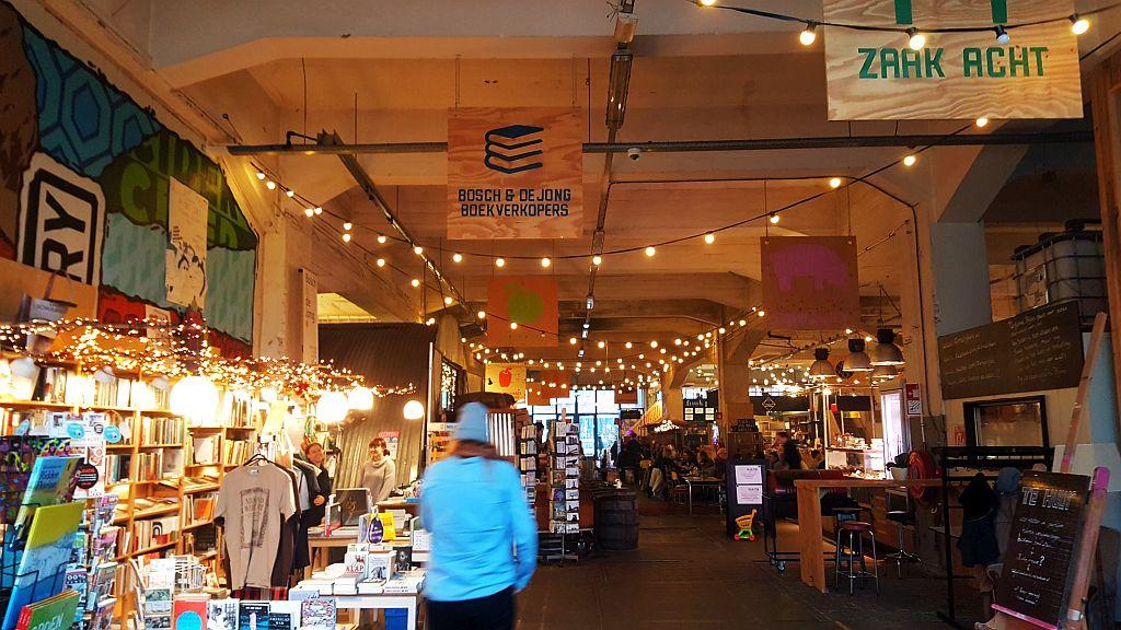 Buchladen Fenix Food Factory Rotterdam