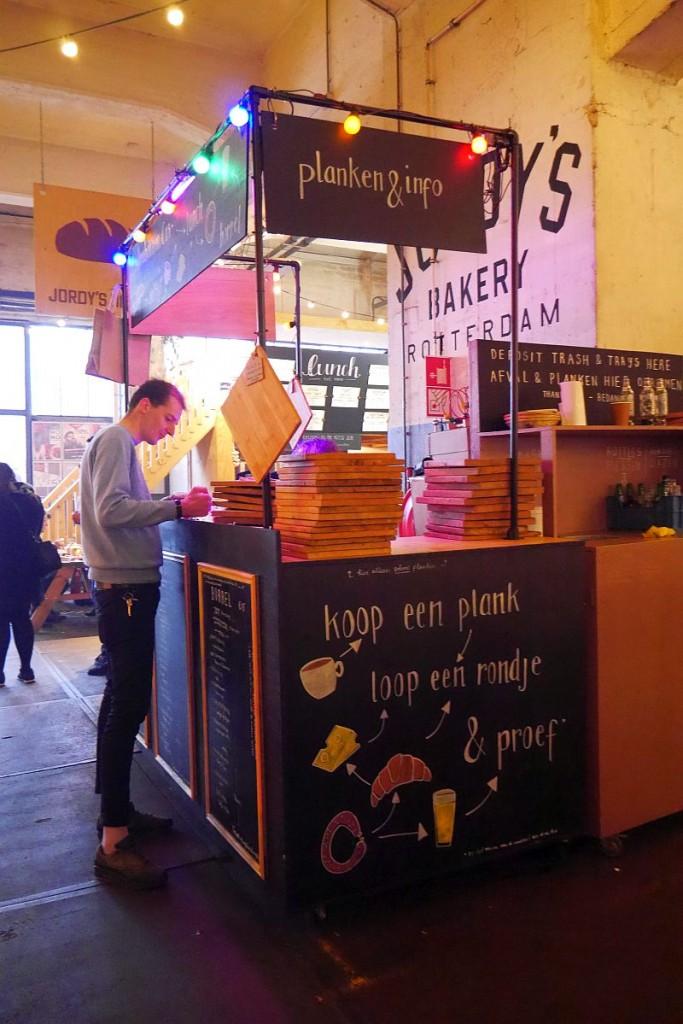 Planken Info-Stand Fenix Food Factory Rotterdam