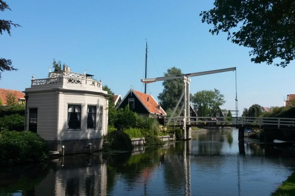 Brücke Edam Ijsselmeer