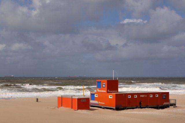 Scheveningen Strandwache Himmel