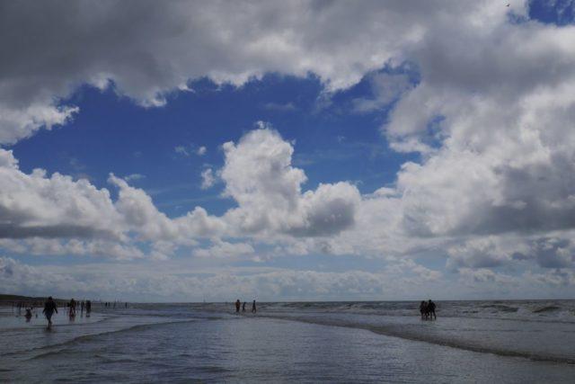 Egmond aan Zee Strand Spiegelung