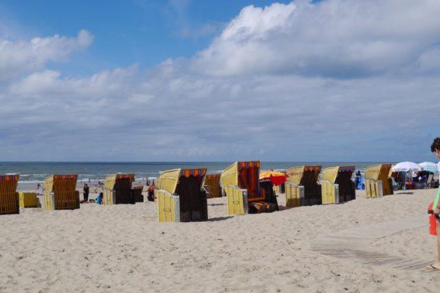 Egmond aan Zee Strandkörbe