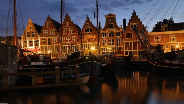 Hoorn am IJsselmeer am Abend: historische Highlights in Bildern